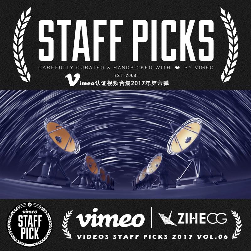 Vimeo STAFF PICKS官方认证创意等视频合集2017年第六弹
