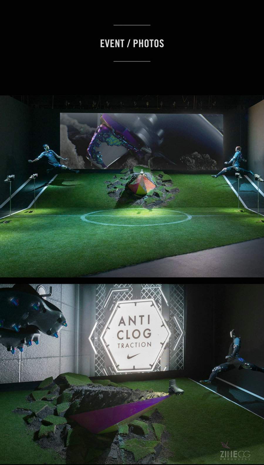 耐克运动鞋最新TVC广告 Nike Anti-Clog Traction