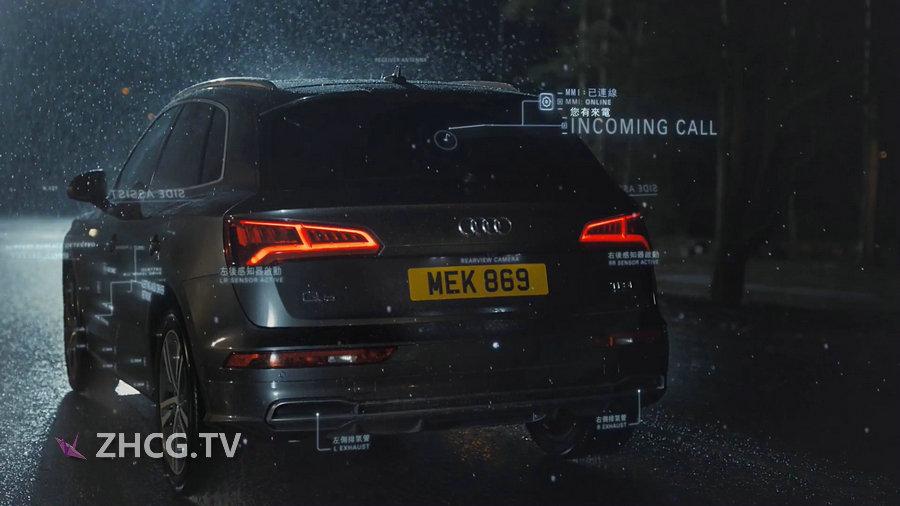 奥迪汽车 HUD The Audi Q5 React