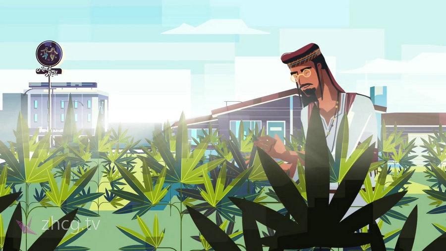 波兰华沙、日本东京跨国二维动画 MG动画 创意工作室BluBlu Studios