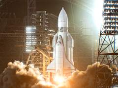俄罗斯N3工作室最新作品―宇宙飞船Buran
