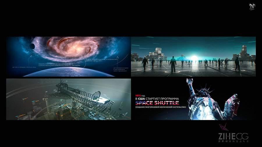 """""""俄罗斯N3工作室最新作品―宇宙飞船Buran/"""