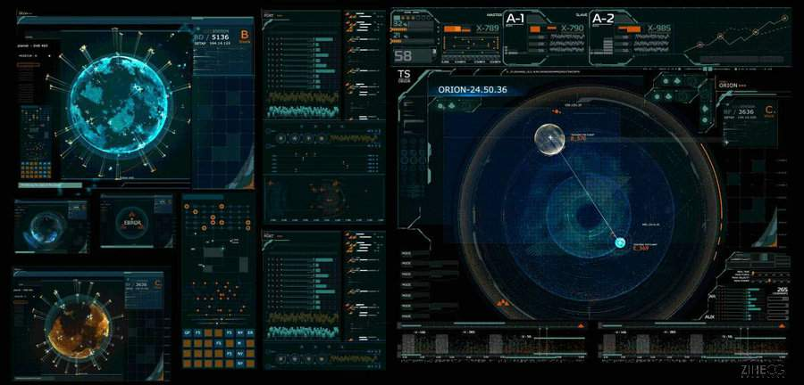 GUI FOR TRAILER  -  MASTER OF ORION