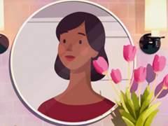 反对家庭暴力保护女性 MV剪纸动画 Frances - 'Grow