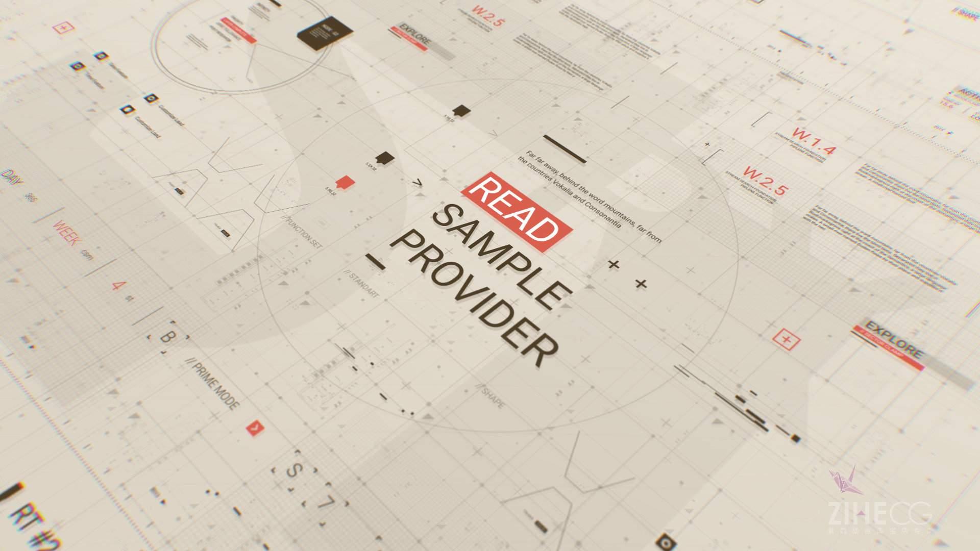 数据之美HUD Typo Graphics Pack