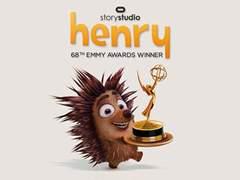 Oculus的小刺猬Henry得了VR电影艾美奖