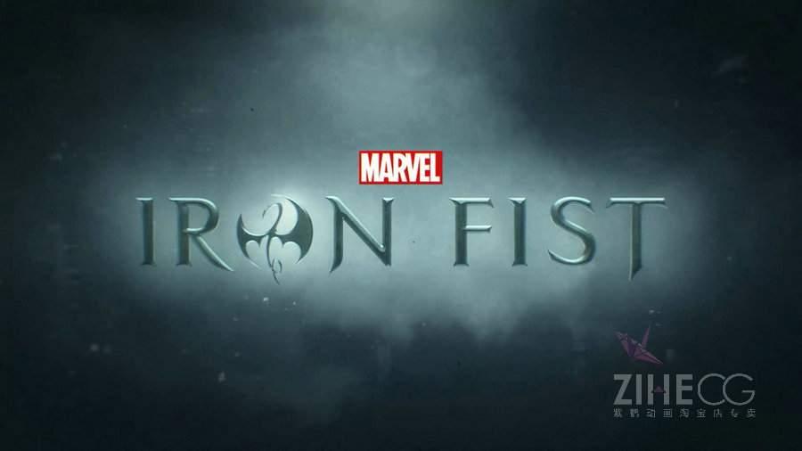 继《美国众神》片头之后又一影视片头力作漫威出品Patrick Clair vs -Iron Fist 铁拳