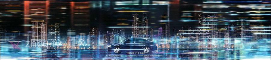 国内 马来西亚 动画艺术总监Kaism Lim 擅长汽车活动长屏幕