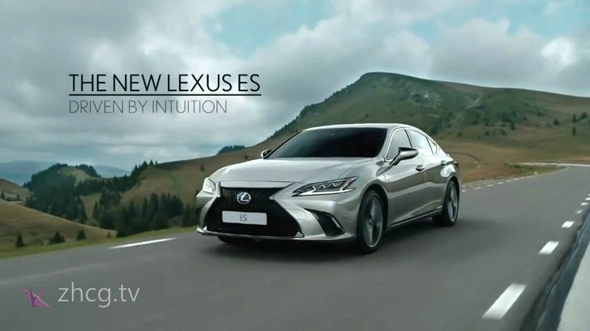 雷克萨斯发布了全球第一部人工智能撰写的商业广告Lexus ES 2019 advert- Driven