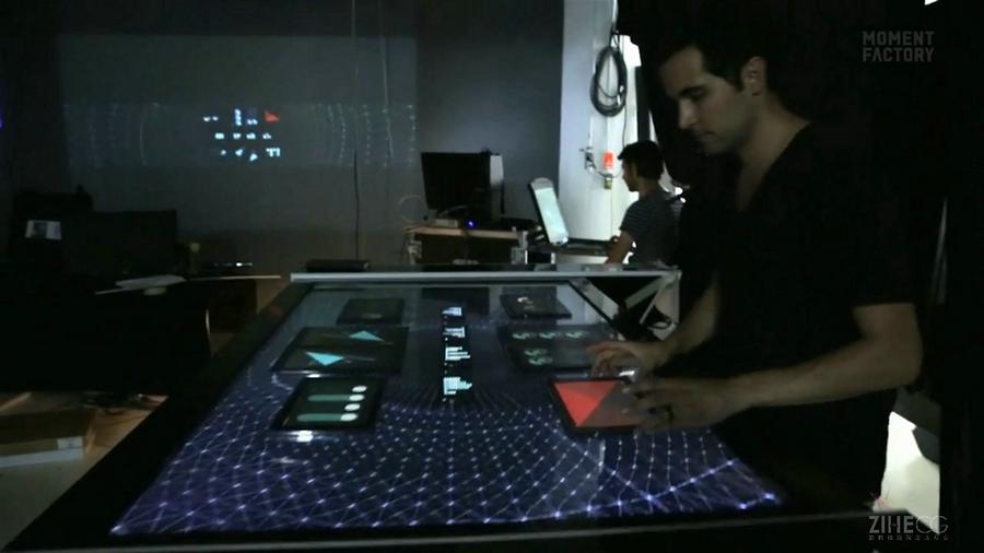 加拿大展览展示交互视频程序潘多拉集成商Moment Factory