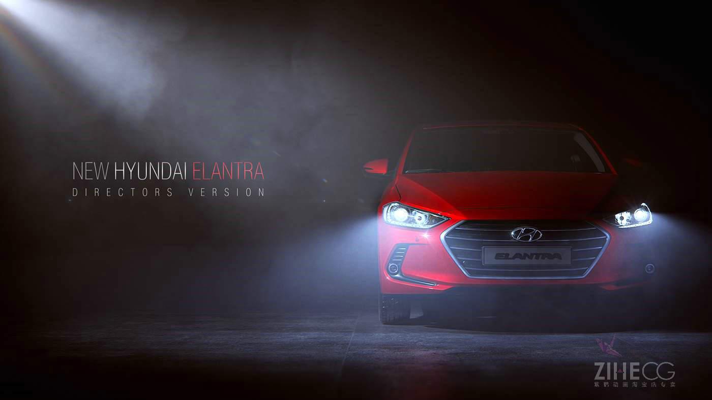 新现代汽车最新TVC New Hyundai Elantra from Vitaliy Yakin