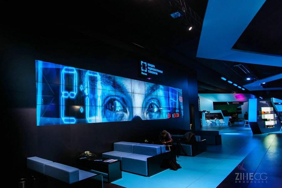无线电电子技术展览展示Pavilion