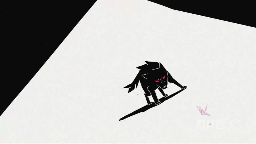 """阿根廷 黑白二维动画音乐 """"狼""""MTVSIAMES - The Wolf"""