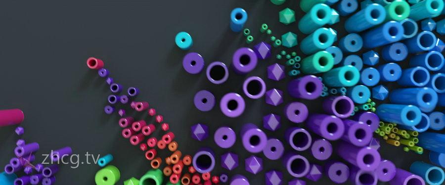 俄罗斯创意视觉团队Subframe Studio 擅长粒子视觉效果