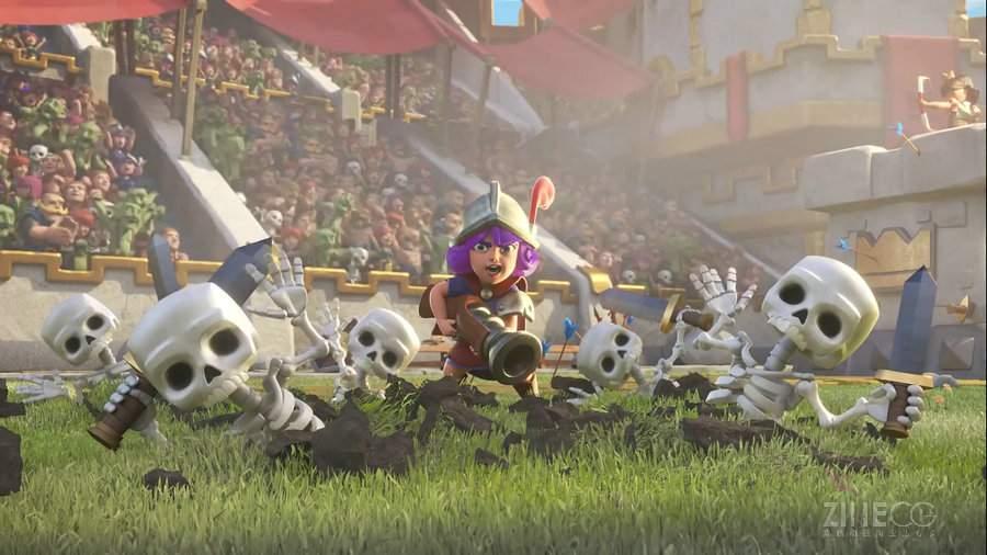部落冲突之皇室战争游戏电视广告Clash Royale- Theme Song