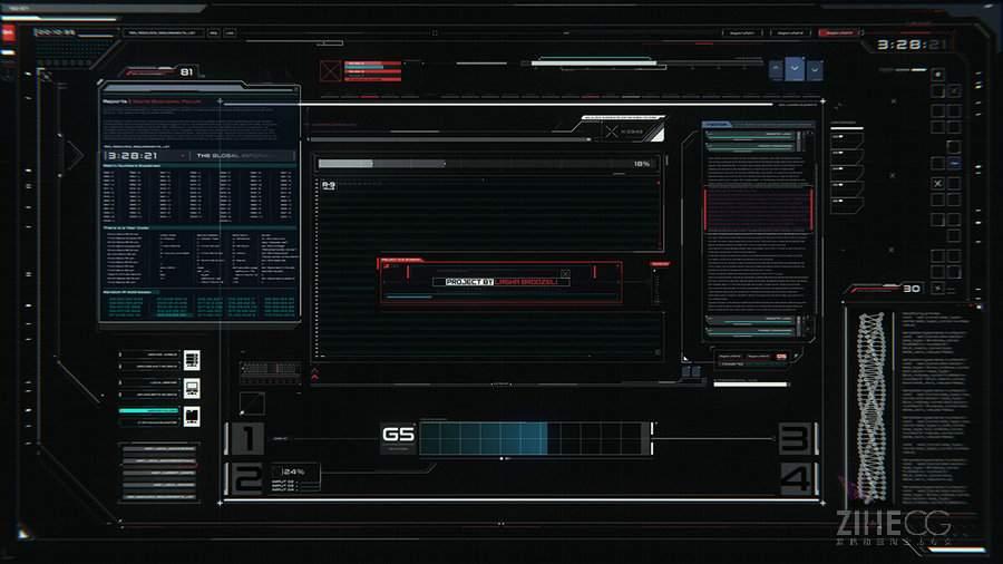 图形设计 动态图像设计 用户界面/用户体验UI Screen Graphics