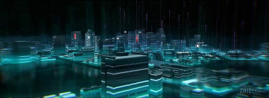 三维城市―URBS INTERACTIVE PART