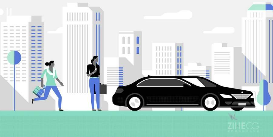 优步MG动画视频Uber 'Digital rider'
