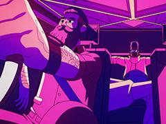 炫彩MG动画 音乐MTV 与优步 滴滴 一起度过新年Le Cu