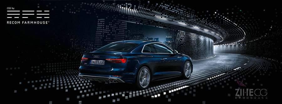 奥迪汽车一本宣传册的制作过程Audi