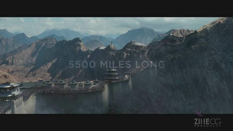 今年最值得期待的电影了,张艺谋作品《长城》The Great Wall