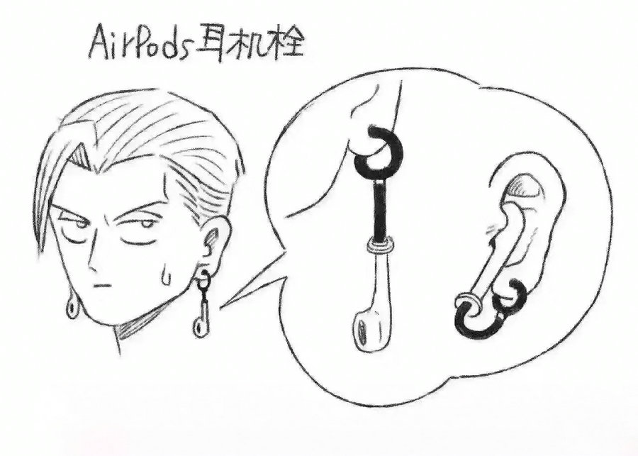 苹果iPhone7蓝牙耳机AirPods