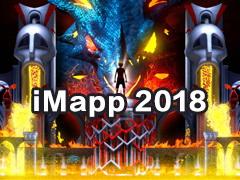 4K 2018年 iMapp Bucharest 布加勒斯特灯光节 3D ma