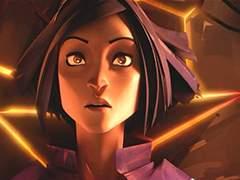 一段凄美的科幻爱情故事―CG动画 Rose Bleue 蓝色玫