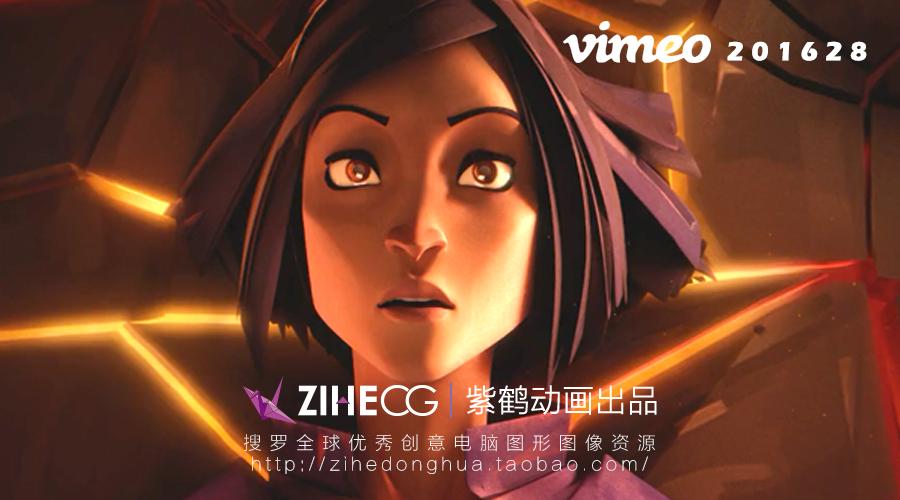 一段凄美的科幻爱情故事―CG动画 Rose Bleue 蓝色玫瑰