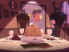 法国得奖动画-两对情侣的故事 拜�你不要再滑手机了