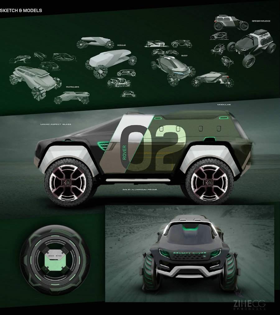 捷豹路虎汽车模型制作