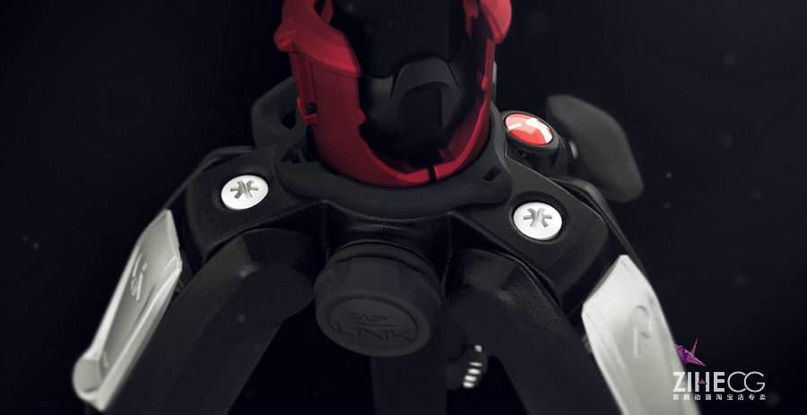 三脚架产品展示动画