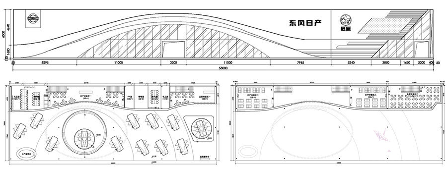 东风日产车展效果图