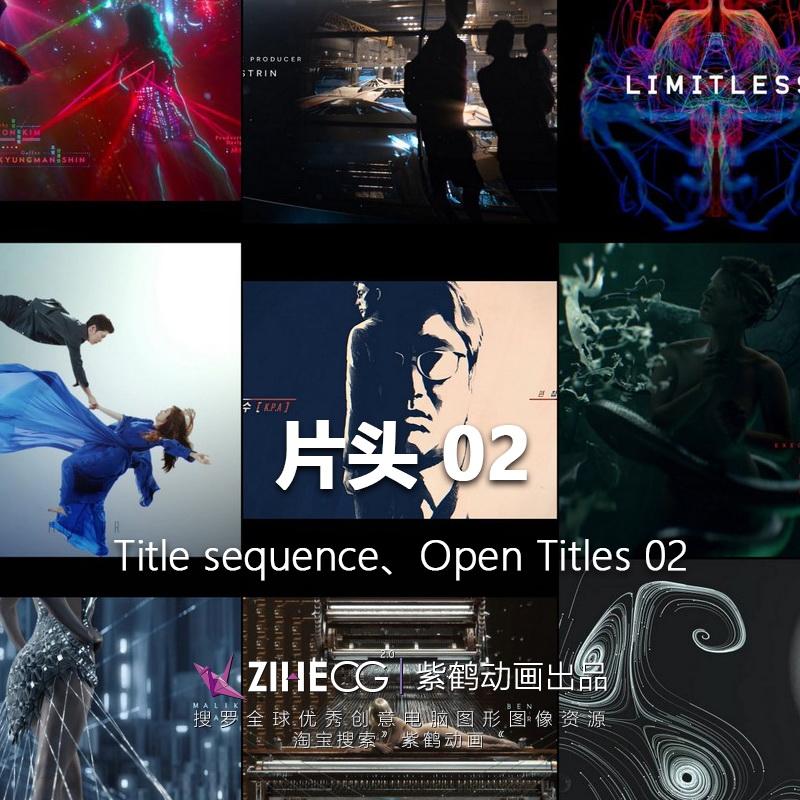 美剧、电视剧、片头集锦 Title sequence、Open Titles 02