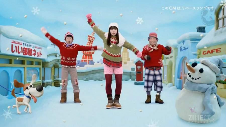 高清 Japanese TV Ads of 2017日本2017年年度电视广告第二弹