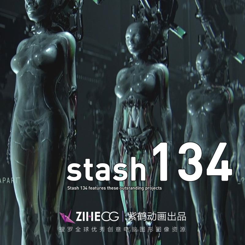 美国2019年3月STASH 134期 1080P VFX 电视包装、广告创意、动画