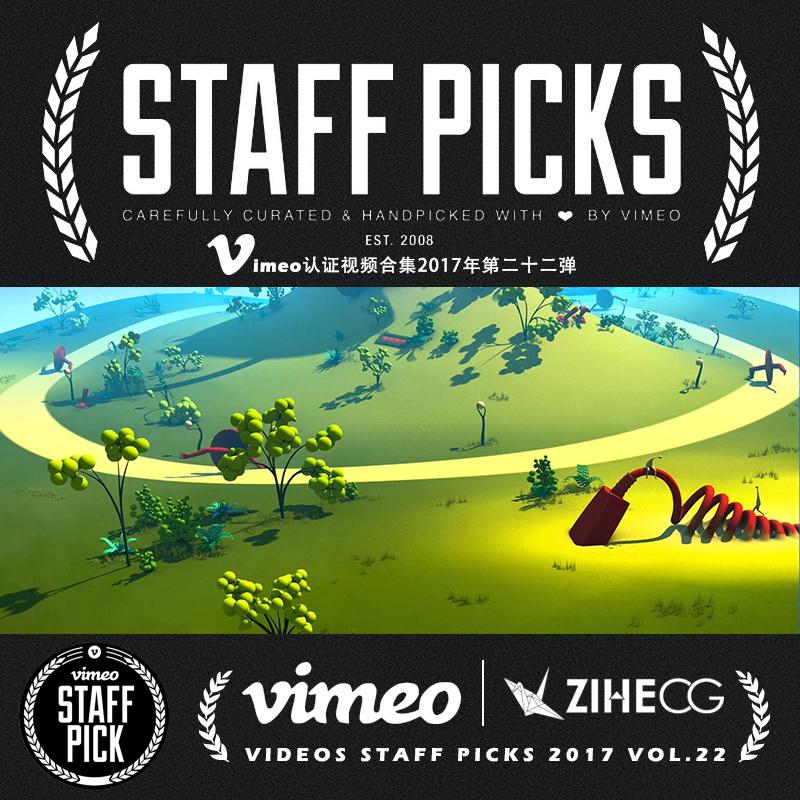 Vimeo STAFF PICKS官方认证创意等视频合集2017年第二十二弹