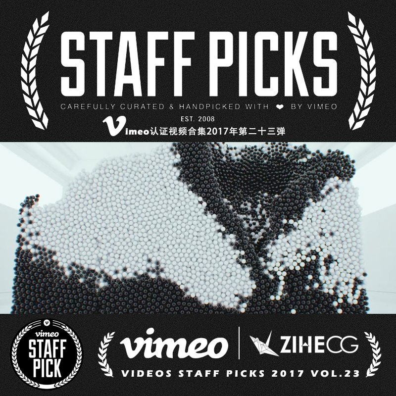 Vimeo STAFF PICKS官方认证创意等视频合集2017年第二十三弹