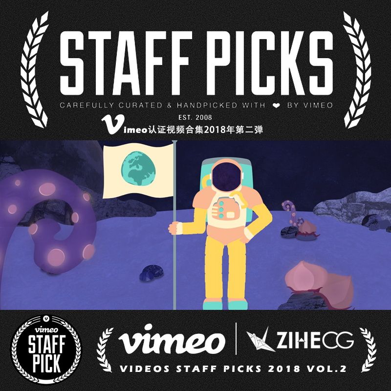 Vimeo STAFF PICKS官方认证创意等视频合集2018年第二弹