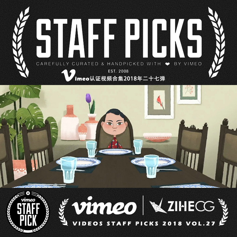 Vimeo STAFF PICKS官方认证创意等视频合集2018年第二十六&七弹