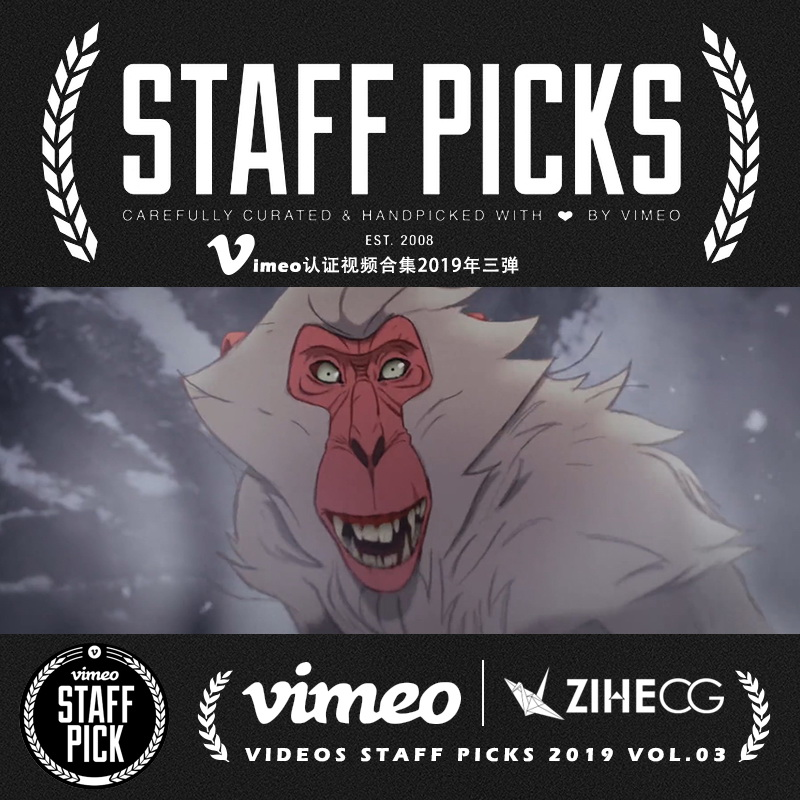 Vimeo STAFF PICKS官方认证创意等视频合集2019年第三弹