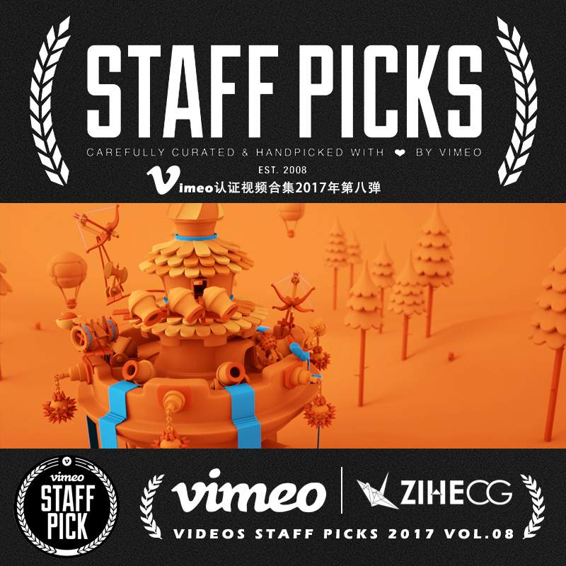 Vimeo STAFF PICKS官方认证创意等视频合集2017年第八弹