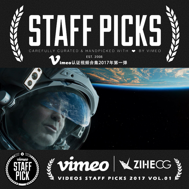 Vimeo STAFF PICKS官方认证创意等视频合集2017年第一弹