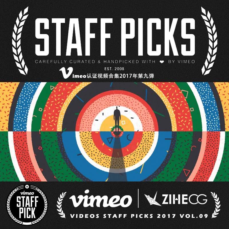 Vimeo STAFF PICKS官方认证创意等视频合集2017年第九弹