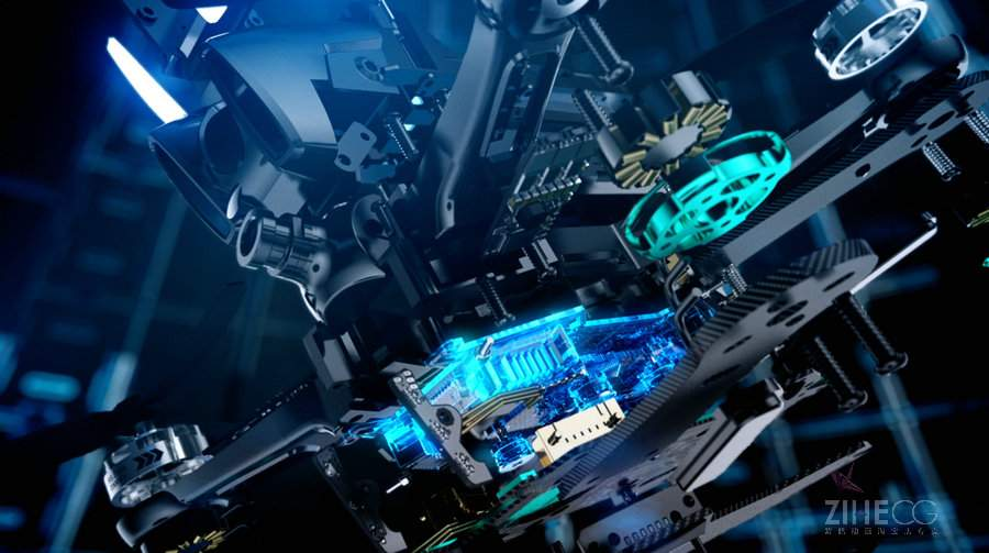 无人机科技感广告 Uvify Draco Launch Film from Bolder Creative