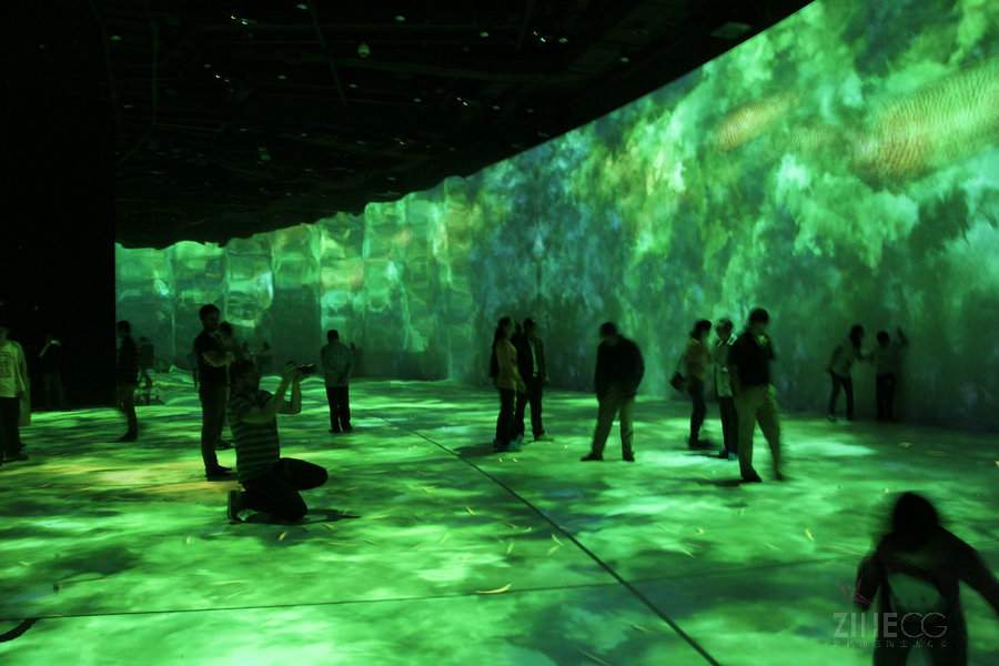 无锡阖闾城遗址博物馆多媒体互动厅