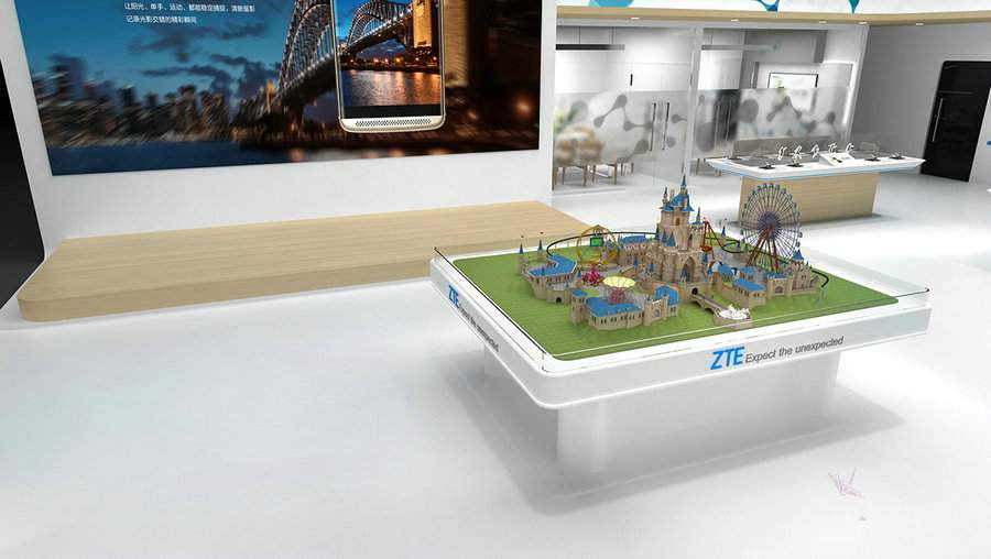 中兴德国柏林国际消费类电子展览会